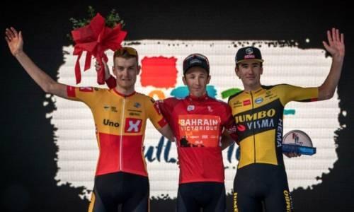 Team Bahrain Victorious riders claim three titles in elite European races