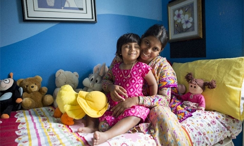 Bangladeshi girl with three legs 'walks, runs' after Australia surgery
