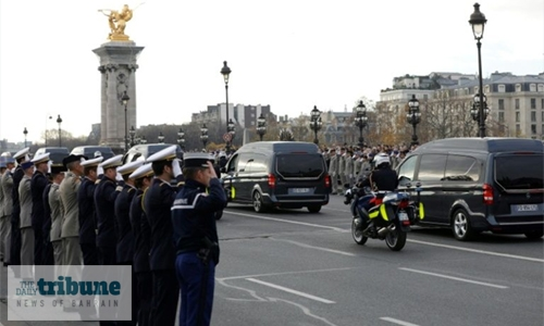 France honours soldiers killed in Mali disaster