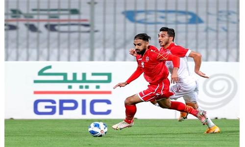 Bahrain bow to Jordan in friendly