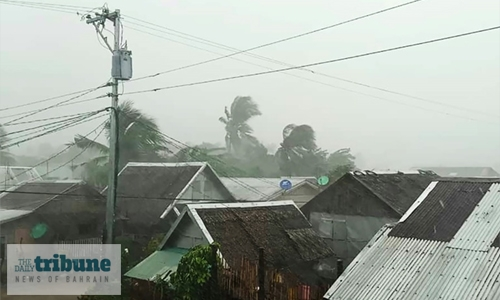 Evacuations, airport closure as Typhoon nears Philippines