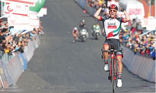 Polanc  conquers Etna