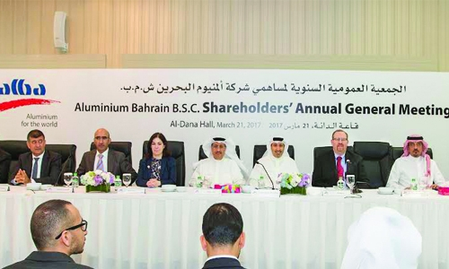 Aluminium Bahrain approves US$80m cash dividend at AGM
