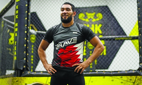 Amir the first Arab athlete in SBG