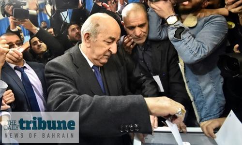 Tebboune elected Algerian president