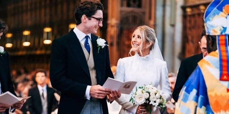 Ellie Goulding: Married life is wonderful