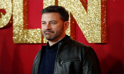 Kimmel, Corden take shows back home as Hollywood urged to halt filming