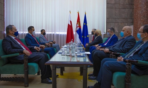 Bahrain; Serbia hold first political consultations meeting