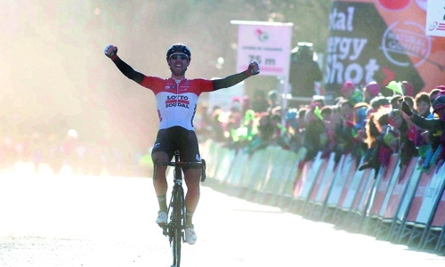 Thomas De Gendt wins Romandie stage two