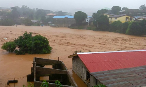Death toll from Sierra Leone floods passes 400