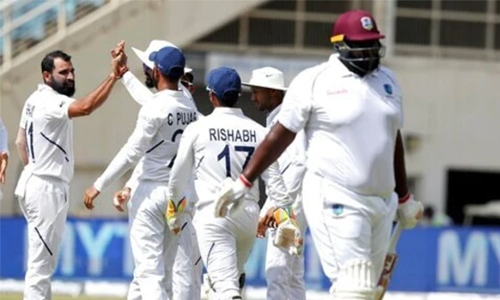India extend huge lead on Windies after opting to bat again