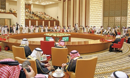 GCC leaders express solidarity with Kingdom