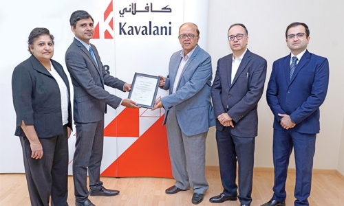 Kavalani and sons receives ISO 9001: 2015 certification