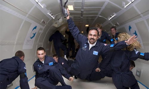 The man who could be India's first space tourist