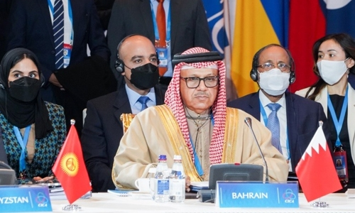 Bahrain calls for dialogue with regional 'friends and partners' for peace, security and prosperity