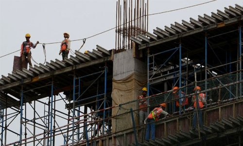 Nine Indian labourers die in construction accident