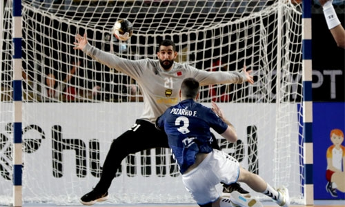 Bahrain concede three late goals in narrow loss to Argentina