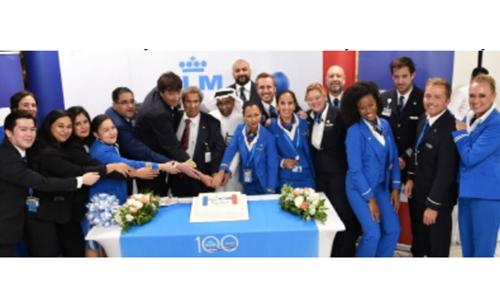 BAC celebrates KLM Royal Dutch Airlines' 100 year anniversary