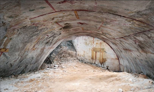 Secret chamber uncovered 2,000 years on at Nero palace