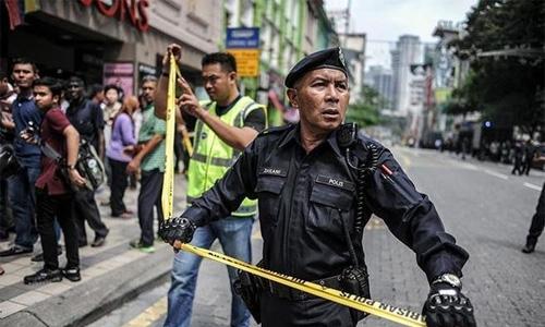 Seven Filipino militant suspects arrested in Malaysia