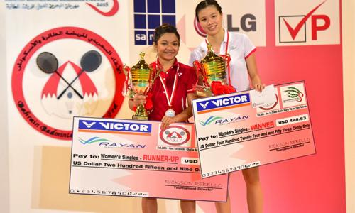 Li Lian, Sameer crowned badminton champions