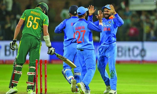 India beat SA, take series 4-1