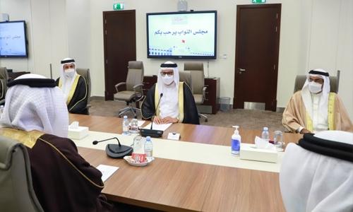 Foreign Minister briefs parliament on Bahrain's efforts regarding developments in Afghanistan