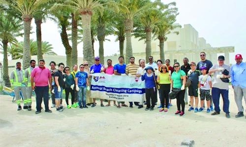 AMAIUB organizes beach clean-up drive