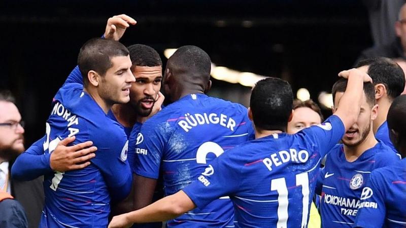 Chelsea fight off Slavia