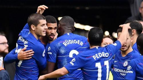 Chelsea fight off Slavia