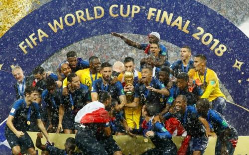 France ends Croatian campaign to lift FIFA World Cup 2018