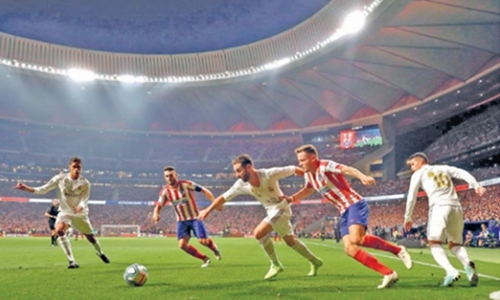 Real hold off Atletico