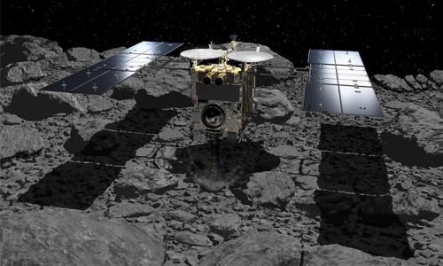 Japan's Hayabusa2 asteroid probe set for final touchdown