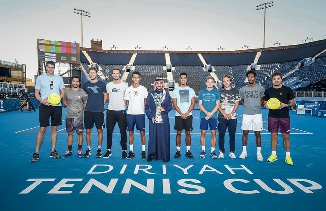 Tennis champs excited to make history at Diriyah Tennis Cup