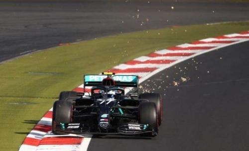 'Spot on' Bottas edges Hamilton to take pole at Eifel GP