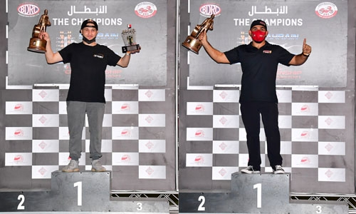 BIC awards 2021 champions of Bahrain Drag Racing Championship following season's fifth and final round in Sakhir