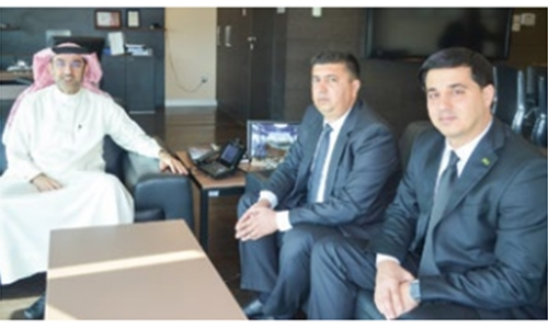 iGA receives Turkmenistan delegation; showcases Bahrain's experience