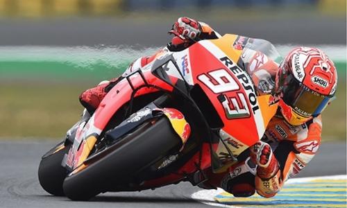 Marquez takes French MotoGP for Honda 300-win landmark
