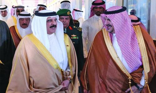 King hails Bahrain - Saudi bilateral ties
