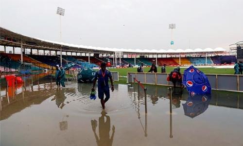 Karachi's wait goes on as ODI called off due to rain