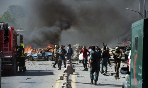 At least 48 killed in Kabul blast