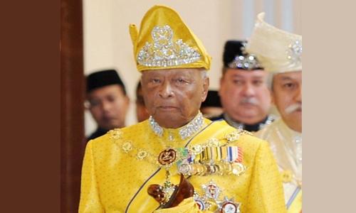 Sultan Ahmad Shah dies