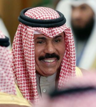 HH Sheikh Nawaf Al-Ahmad Al-Jaber Al-Sabah is the new Emir of Kuwait