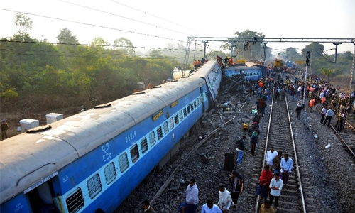 India rail disaster kills 36, fears toll may rise