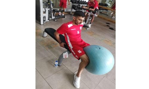 Bahrain Olympic team set for three friendlies at Turkey camp