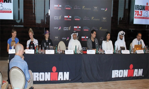 All set for Ironman 70.3 in Bahrain