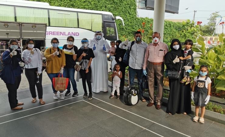 Bahraini citizens repatriated from India