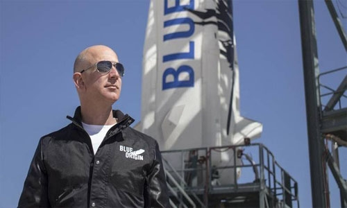Jeff Bezos set to launch into space alongside oldest, youngest astronauts