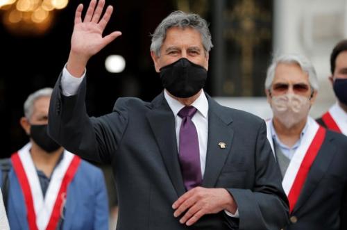 Crisis-hit Peru Names Centrist Lawmaker as Third President in a Week