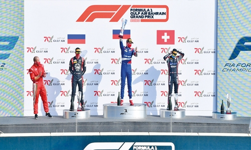 Shwartzman claims pole-to-flag F2 win